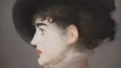 Edouard Manet, Portrait d'Irma Brunner, vers 1880 (détail)