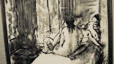 Edgar Degas, Sur le lit, 1880 (détail)