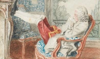 Carmontelle, Monsieur de Mornay, gouverneur de Saint-Cloud. © Sotheby's France