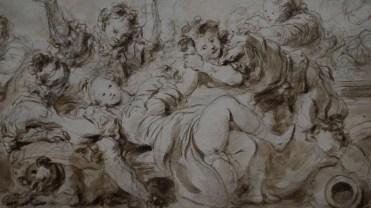 Jean-Honoré Fragonard, Les Suites de l'Orgie, vers 1765-1770 (détail)