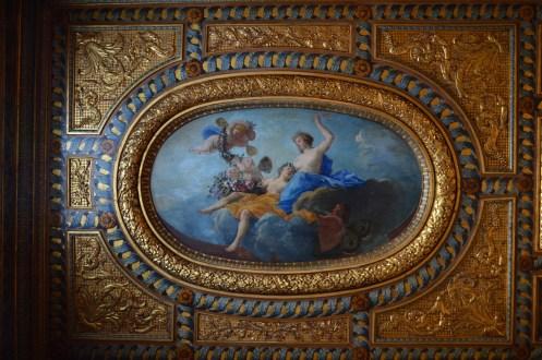 Michel Dorigny, Le Triomphe de Cérès, vers 1658-1660, Paris, hôtel de Lauzun. © Damien Tellas