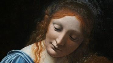 Giovanni Antonio Boltraffio, Vierge à l'Enfant, vers 1495 (détail)