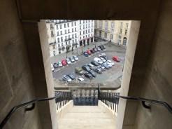 Escalier d'accès au dôme