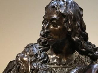 Antoine Coysevox, Buste de Louis II de Bourbon, prince de Condé, cuirassé, 1688, bronze, Paris, musée du Louvre.
