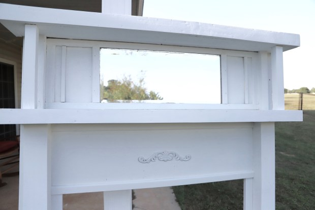 how to restore a vintage mantel
