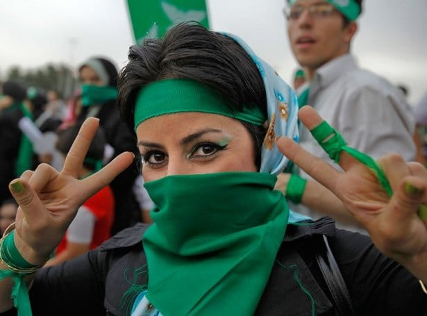 Read more about the article Iranian Artists Support Green Movement