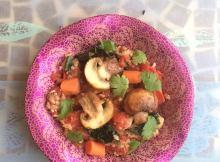 Vitamin D Mushroom Spiced Tomato Dish