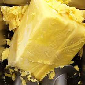25kg block of concentrated butter