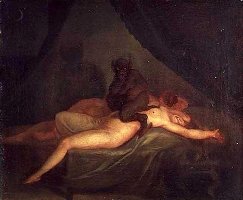 Nikolaj Abraham Abildgaard, The Nightmare