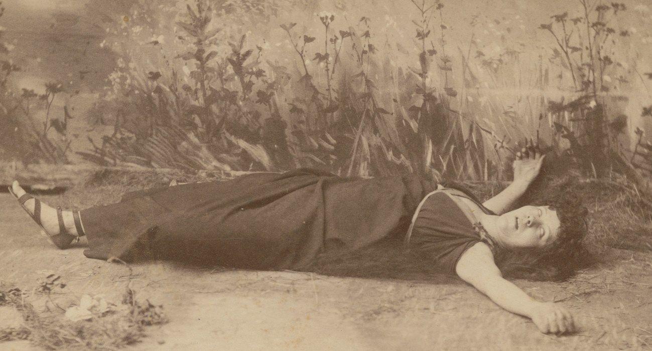 Loie Fuller, 1887. Photographer Otto Sarony