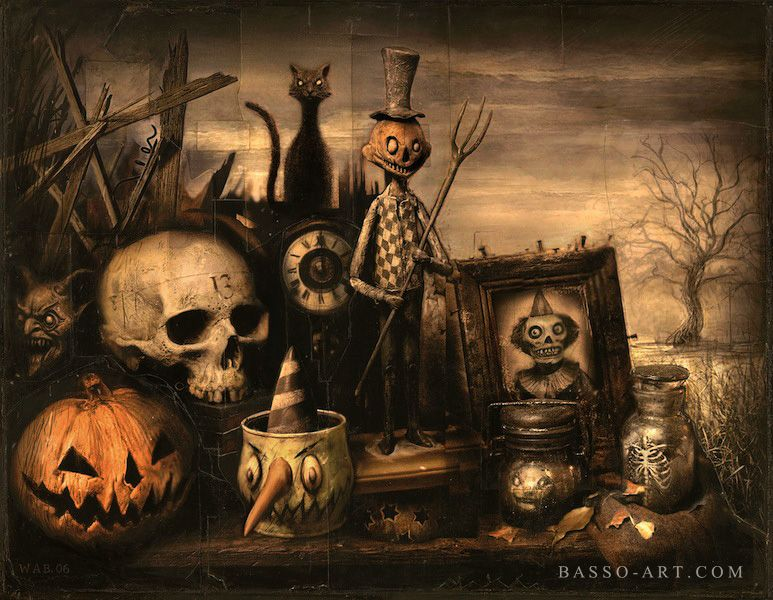October Shadows by William Basso