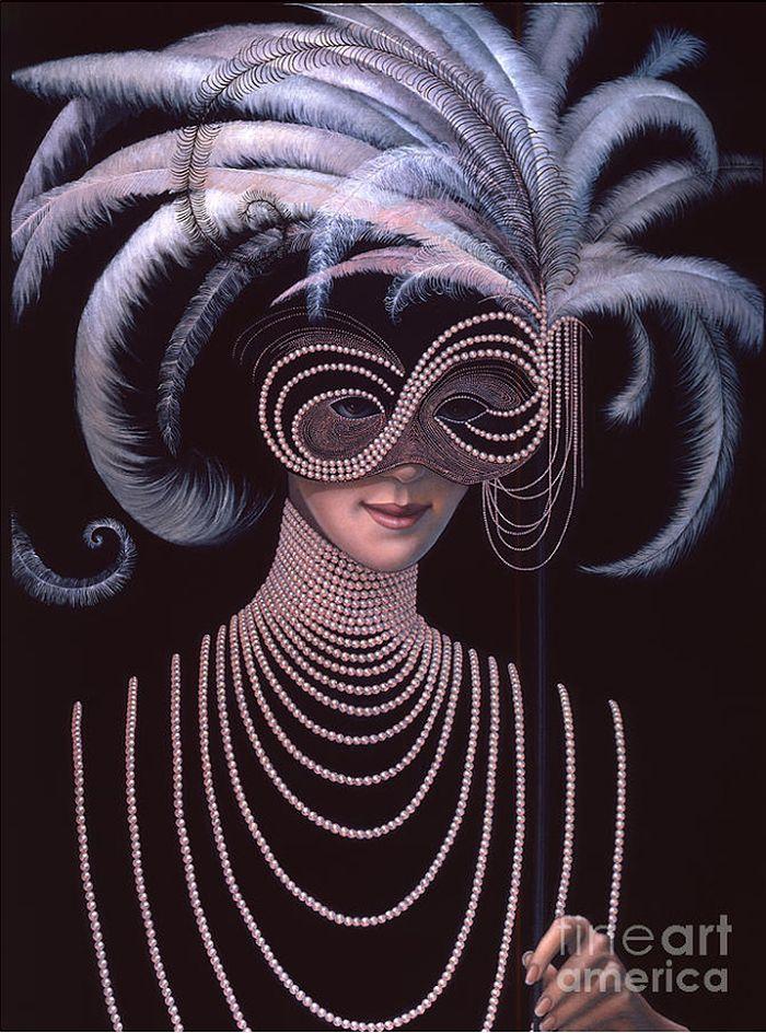 Mask By Artist Jane Whiting Chrzanoska