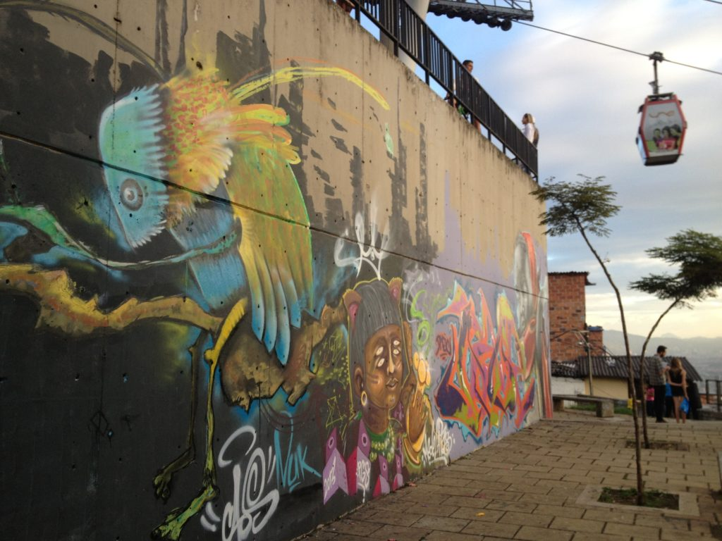 Medellin Street Art (Photo Credit: Paige Conner Totaro)