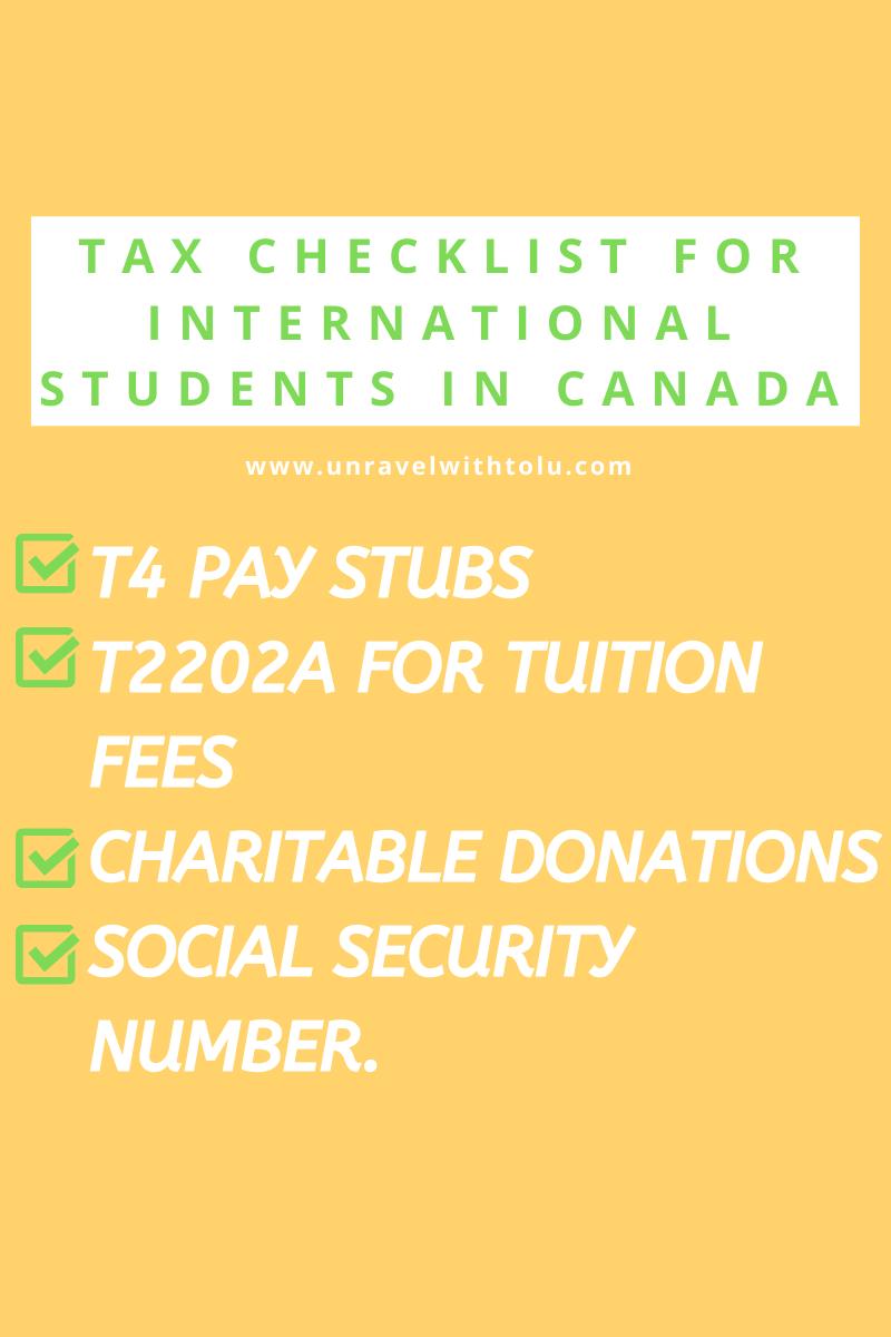 hecklist-For-InTERNATIONAL-STUDENTS-IN-CANADA