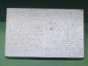 A letter written by Jane Austen