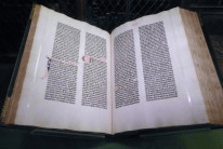 One of Morgan's Gutenberg bible