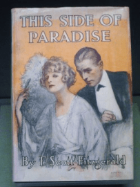 "A first edition of F. Scott Fitzgerald's ""This Side of Paradise"""
