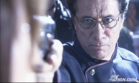Edward James Olmos as Bill Adama