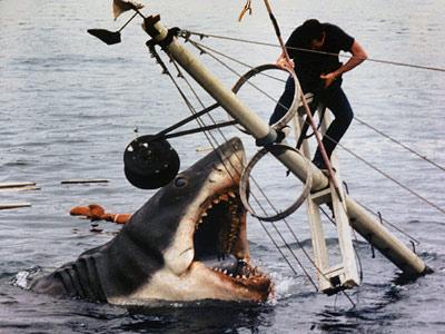 do you laugh at my javelin, big fish?