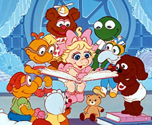 Muppet Babies Reading