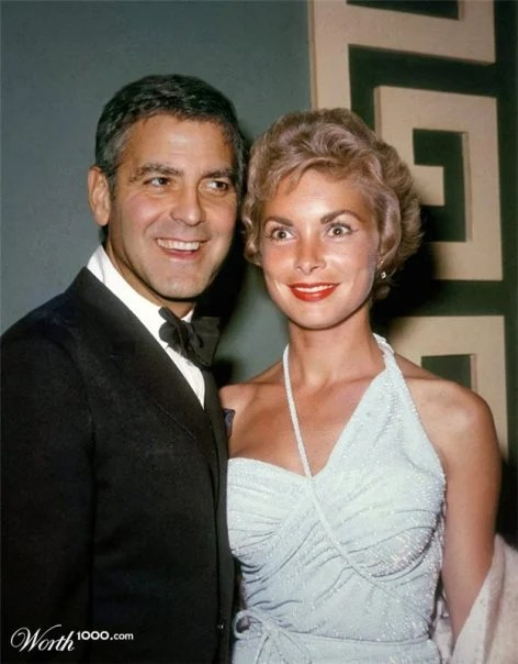 Clooney et Leigh