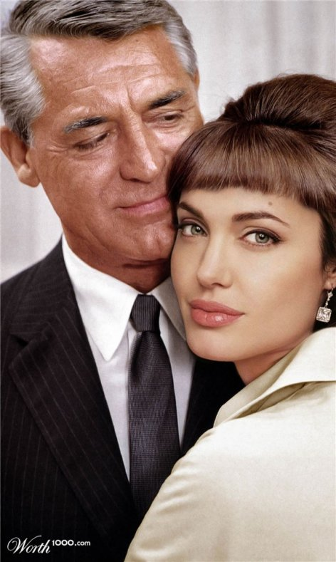 Cary Grant et Jolie