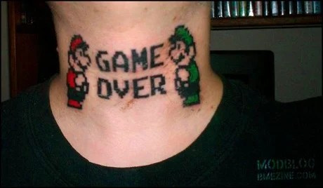 dumbest video game tattoos you'll ever see.