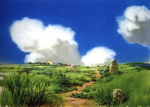 88 Of Hayao Miyazaki S Beautiful Backgrounds From Spirited Away