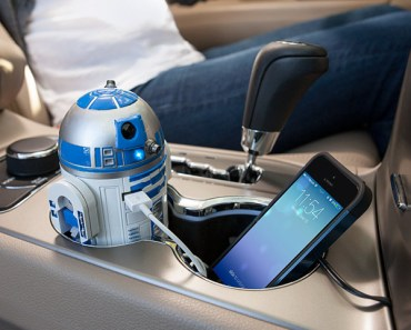 Yes, I'll Take an R2-D2 USB Car Charger Please