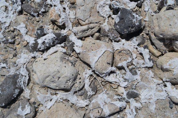 Salt-splashed Rocks