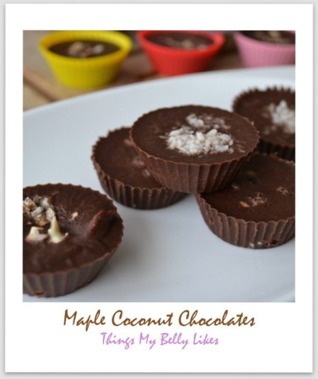 Maple Coconut Coffee Chocolates