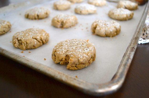 Vegan Creamsicle Coconut Cookies by An Unrefined Vegan