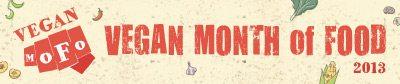 Vegan MoFo 2013 Logo