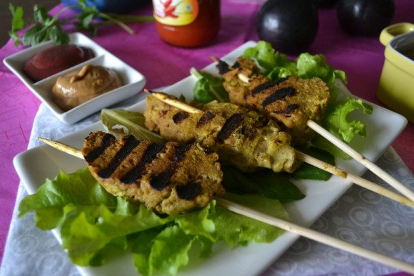 Seitan Satay by An Unrefined Vegan