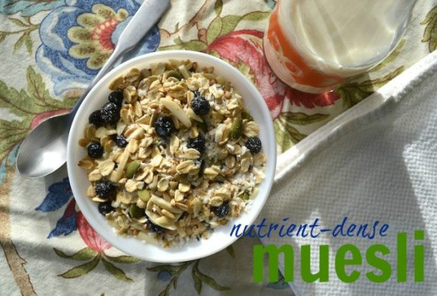 Muesli An Unrefined Vegan