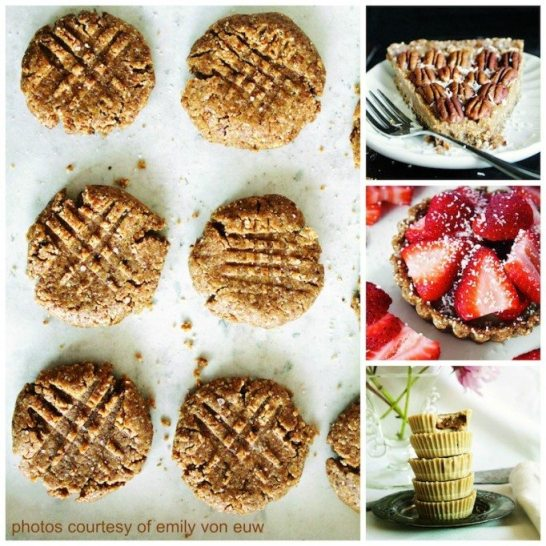 Rawsome Vegan Baking Collage