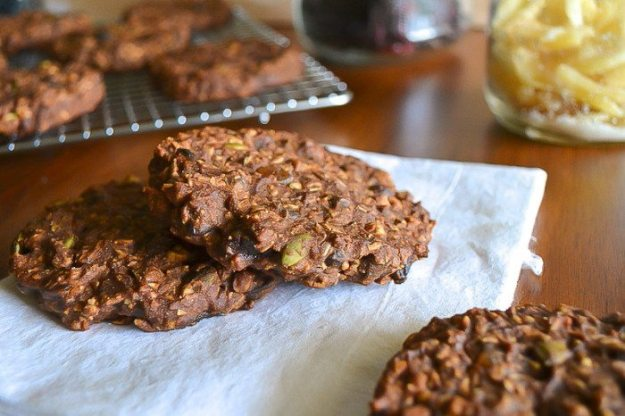 GF, Oil-free Chocolate Everything Cookies An Unrefined Vegan