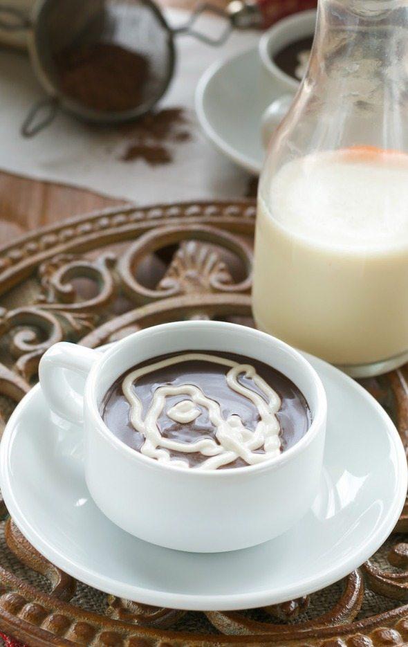 Low Fat Luscious Hot Cocoa via An Unrefined Vegan