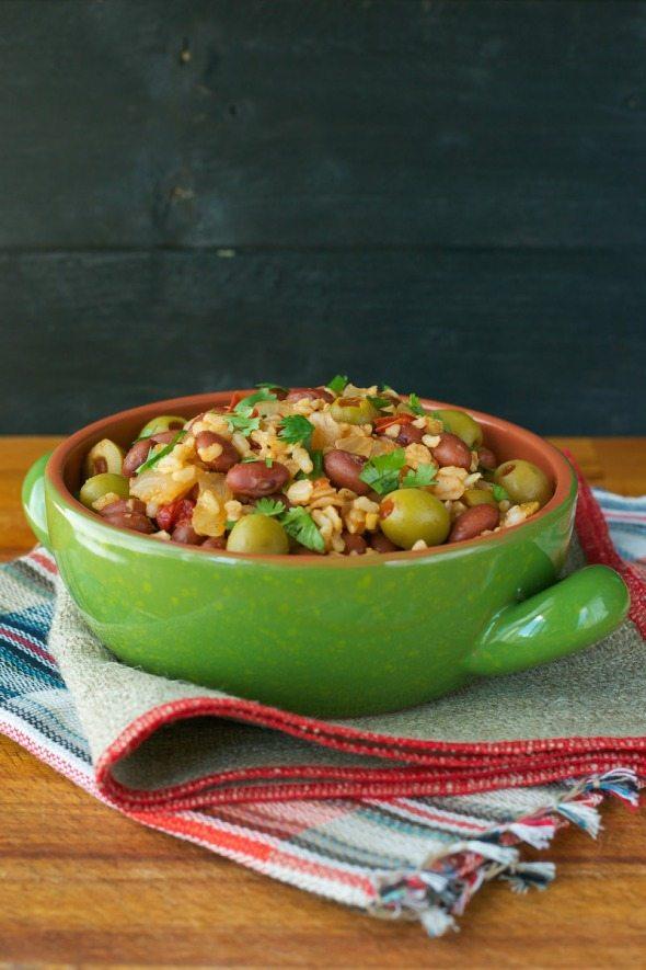 Spanish Style Rice & Beans An Unrefined Vegan