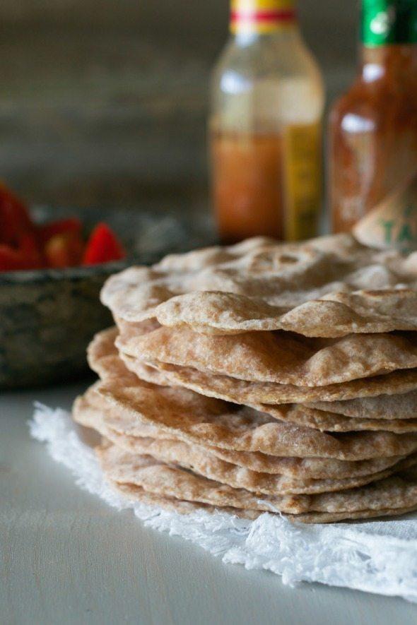Whole Wheat Tortillas An Unrefined Vegan