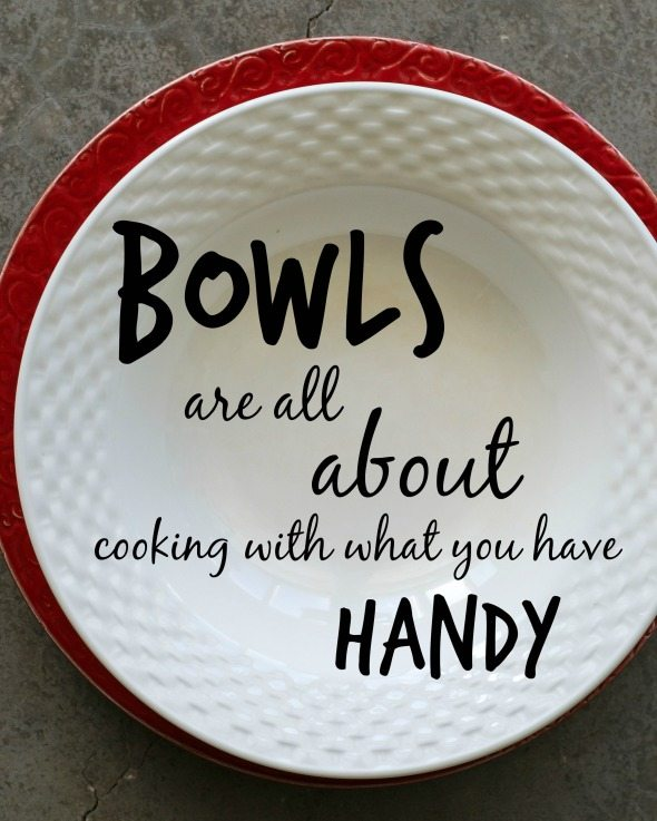 Bowls Are Handy An Unrefined Vegan