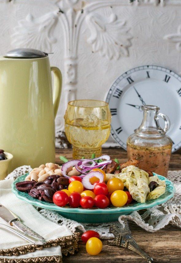 Nicoise-Style Salad An Unrefined Vegan