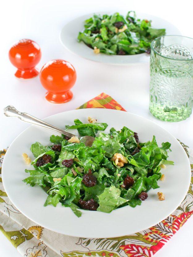 Festive Kale Salad An Unrefined Vegan