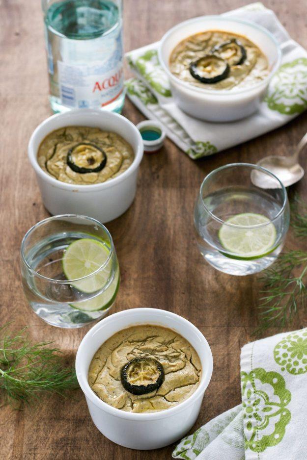 Vegan Gluten-free Roasted Fennel, Zucchini, & Garlic Custard from An Unrefined Vegan