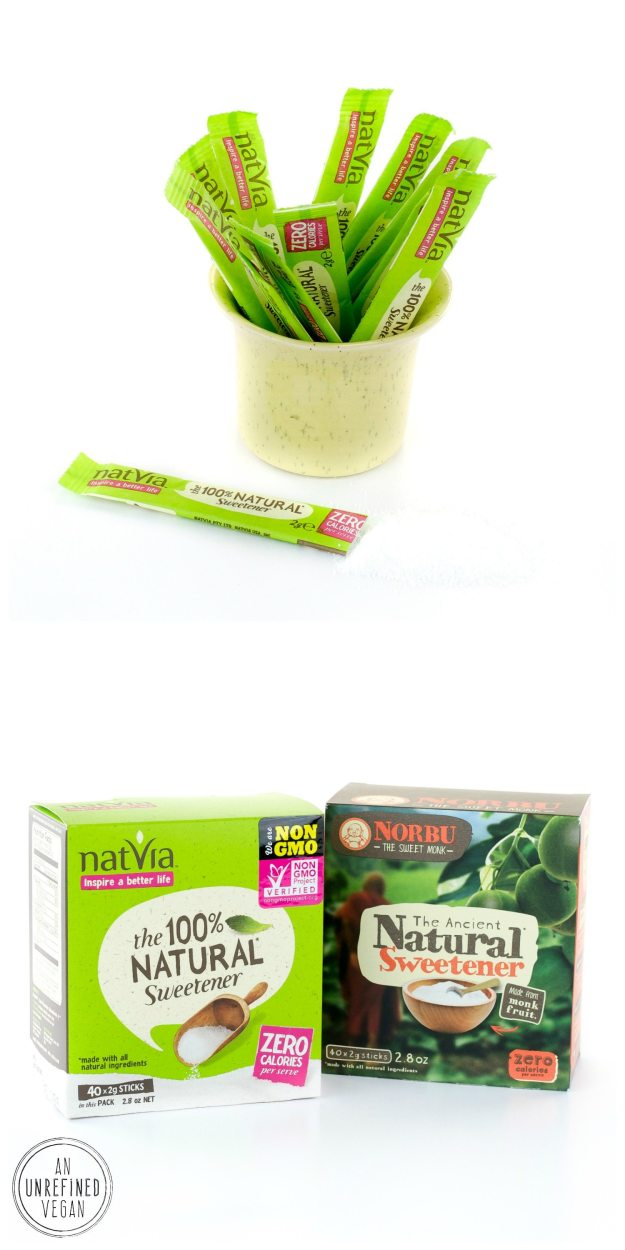 Natvia Sweeteners An Unrefined Vegan