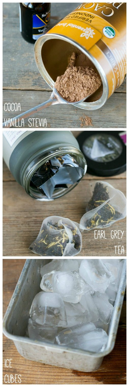 Chocolate Earl Grey Shake by An Unrefined Vegan