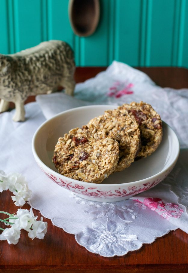 No Bake Breakfast Cookies from Crave Eat Heal by Annie Oliverio