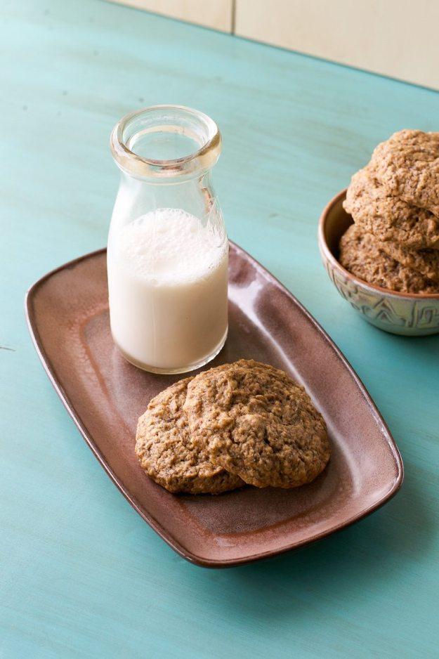 Sugar-free Oil-free Vegan Banana Bread Cookies by An Unrefined Vegan