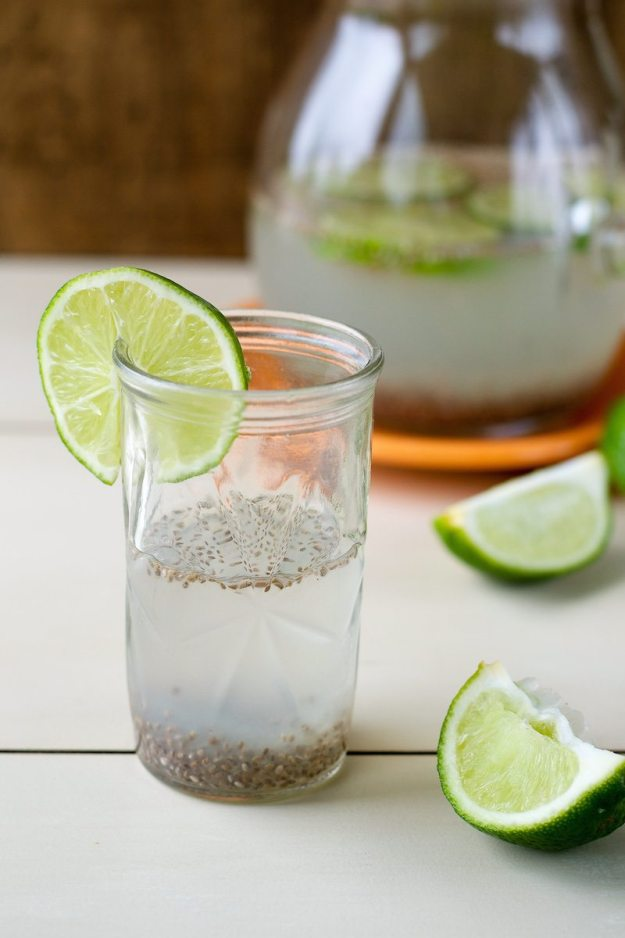 Chia Limeade from The Abundance Diet Photo by Annie Oliverio