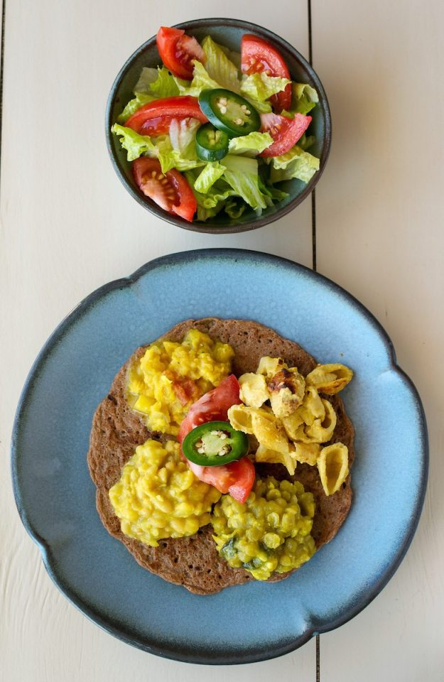 Teff Love Plate by An Unrefined Vegan